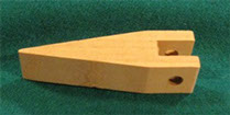 Wooden Paddle for gaming wheels